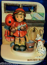 """GOEBEL M. I. HUMMEL """"TO THE RESCUE"""" SCAPE W/""""FIREFIGHTER"""", HUM 2030, HBV* $280"""