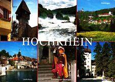 Hochrhein , Ansichtskarte, 1995 gelaufen