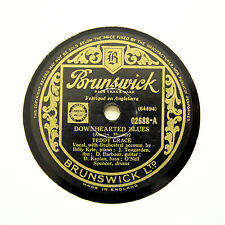 "TEDDY GRACE ""Downhearted Blues / Monday Morning"" BRUNSWICK 02688 [78 RPM]"