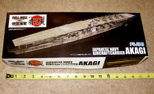 NEW Fujimi 1/700 Full Hull/Waterline Scale AKAGI Japanese WW2 Aircraft Carrier