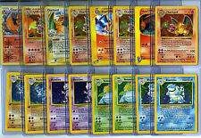 POKEMON GO (16) CARD LOT WITH 1ST EDITION, SET HOLO FOILS, CHARIZARD GUARANTEED!