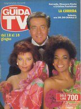 rivista NUOVA GUIDA TV ANNO 1988 NUMERO 23 CORRADO, E. RESTA E C. PANTALEON