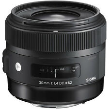 Sigma 30mm f/1.4 DC HSM ART Lens for Canon EOS DSLR Cameras