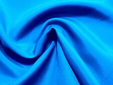 Awesome ROYAL BLUE Light Weight Solid Poly CREPE DE CHINE Fabric