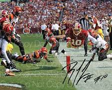 Robert Griffin III RG3 signed Redskins 8X10 photo picture poster autograph RP