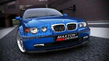 FRONT SPLITTER (TEXTURED) FOR BMW 3 E46 COMPACT (2000-2004)