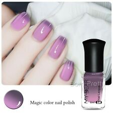 6ml Thermolack Peel Off Farbwechsel Nagellack Nail Color Changing Polish #C010