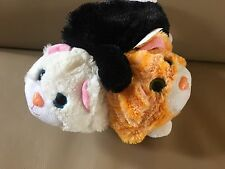 Pop Out Pets - Cat Plush 3 In 1 White Black Orange ginger MAKE OFFERS