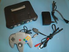 NINTENDO 64 CONSOLE N64 N GAME SYSTEM CONTROLLER NES HQ 90 Day Warranty