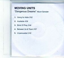 (DU732) Moving Units, Dangerous Dreams (Album Sampler) - DJ CD