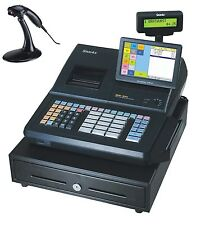 Convenience Store Special SAM4S SPS-530 RT Cash Register with MS 9520 Scanner