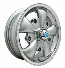 VW BUG GHIA WHEELS GT-5-Spoke EMPI  5.5 X 15 SILVER  5X205 9691