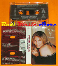 MC BARBRA STREISAND Back to broadway 1993 holland COLUMBIA 4738804 cd lp dvd vhs