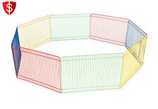 Small Pet Playpen Animal Indoor Fence Outdoor Exercise Play Portable Multi-color