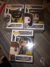 funko pop harry potter hedwig bellatrix lucius malfoy hot topic exclusive