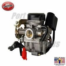 49.5cc- 50cc SCOOTER CARBURETOR ~ 4 stroke chinese GY6 139QMB engine ~
