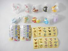 Pokemon Takara Tomy Eevee Friends & Sylveon Figure 10P Set Ippai Collection Lot