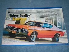 "1969 Chevelle SS396 Article ""Driver Quality"" Redefined Super Sport"