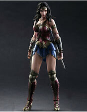 Batman v Superman Dawn of Justice Wonder Woman Play Arts Kai Action Figures Toy
