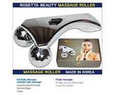 Micro Fit 3D Solar Y-Shape Facial Massage Platinum Roller Full Body Slim Tight