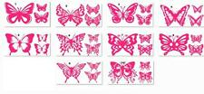 3 Butterfly Vinyl Stickers, decals, car,window, VAN, BOAT, BIKE TABLET