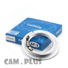 3nd AF Confirm M42 Lens to Canon EOS Camera Adapter Silver 5D mark III  650D