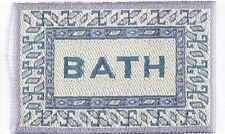 Dollshouse Dolls House Miniature Bath Mat Rug Carpet