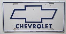 1980's CHEVROLET BOOSTER License Plate