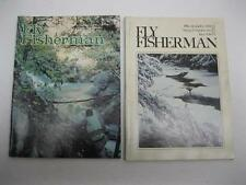 Vintage 1970s Fly Fisherman Fishing Back Issues Lot of 2 & 1 Bonus Trou