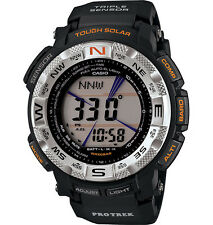 Casio PRG260-1 Men's Protrek Tough Solar Triple Sensor Direct One Touch Watch