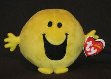 TY MR. HAPPY BEANIE BABY - MR MEN & LITTLE MISS - UK EXCLUSIVE  MINT  TAGS