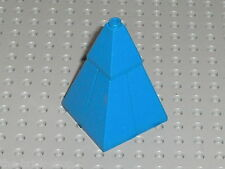 Toit LEGO castle blue roof 4 Slope Brick ref 3685 + 3688 / set 6091 6098 ...