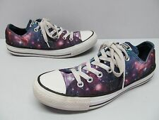 Converse All Star Cosmic GALAXY Satin Low Top Sneakers Womens sz 8