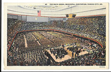 The Main Arena, Municipal Auditorium, Kansas City, Mo, Unposted by Max Bernstein