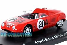 1:43 ABARTH SIMCA 1300 SPORT SPIDER - 1962 _ Abarth Collection Hachette (63)