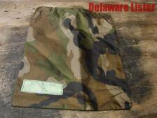 """**US Military Poncho 10"""" x 12"""" Camo Water Proof Storage Bag/Pouch w/draw string"""