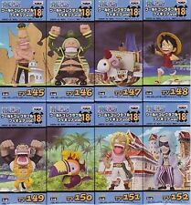 One Piece World Collectable Figure Vol.18 Set All Eight Species New Japan Import