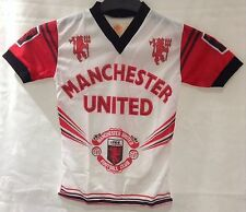 Manchester United Rare 1980's Coffer T Shirt