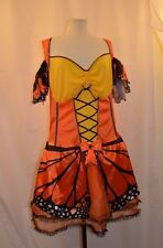 Monarch Butterfly Halloween Costume Adult Pretend Fantasy No Tags With Wings