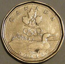 Canada 2004 lucky loonie Olympics $1 dollar coin