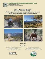 Spring Mountains National Recreation Area 2011 Annual Report by Rocky Mountain R