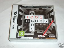 NINTENDO DS GIOCO 1001 crocevia BRAND NEW FACTORY SEALED