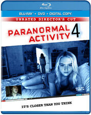 Paranormal Activity 4 [Unrated Director's Cut] [Blu (2013, REGION A Blu-ray New)