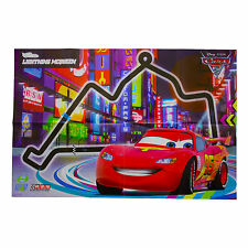 Disney Cars 2 Poster Kids Wall Art Pack Film Characters Lightning McQueen PRE351