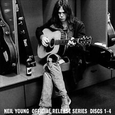 Neil Young- Official Release Series, Discs 1-4 CD #002528 HDCD Gold Discs