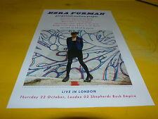 EZRA FURMAN - Perpetual motion people - Publicité de magazine / Advert !!!