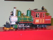 MINT LGB 20251 G-Scale S.R.&R.L. Forney Locomotive w/ Smoke & Light