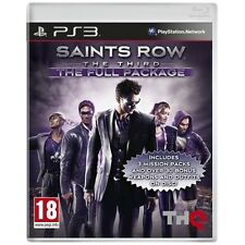 Saints Row The Third The Full Package Game PS3 Sony PlayStation 3 PS3 Brand New