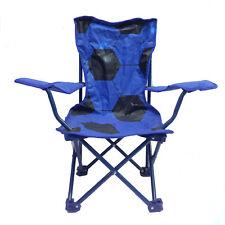 Silla resellable compacto cómoda de viaje/acampada blu con bola estampado