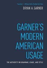 Garner's Modern American Usage by Bryan A. Garner